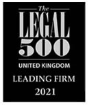 Legal 500 - Leading Firm 2015